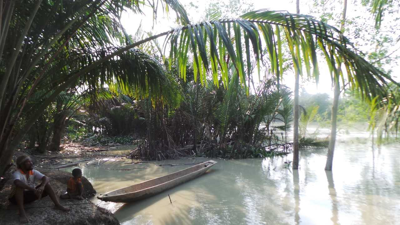 The Upper Bian River, Merauke, West Papua. Photo by Sophie Chao